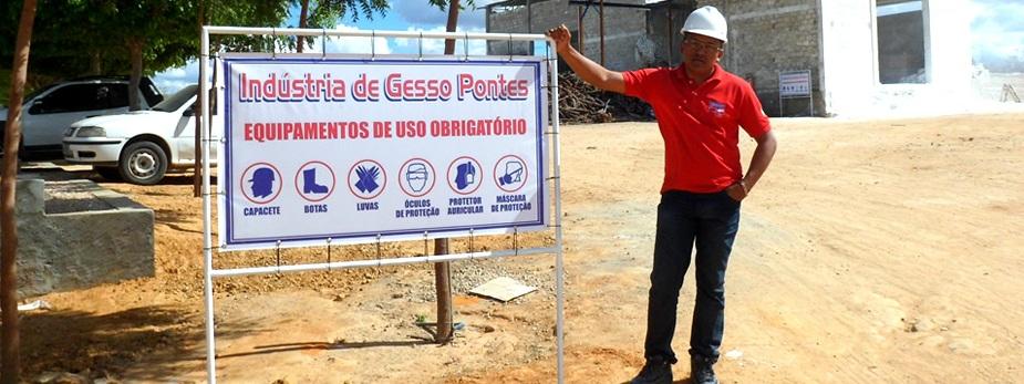 INDUSTRIA DE GESSO EM TRINDADE - GESSO PONTES - PE