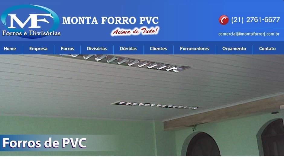 FORRO PVC EM JACAREPAGUA - MF FORROS E DIVISÓRIAS - RJ