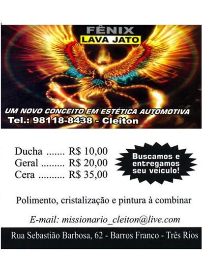 BORRACHARIA E LAVA JATO EM TRÊS RIOS