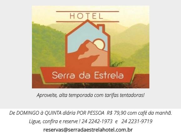 HOTEL EM PETROPOLIS - SERRA DA ESTRELA - RJ