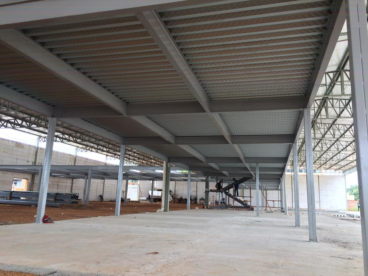 Lajes Steel Deck em Porto Velho