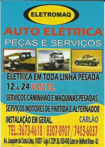 AUTO ELETRICA PARA CAMINHAO EM BELFORD ROXO RJ