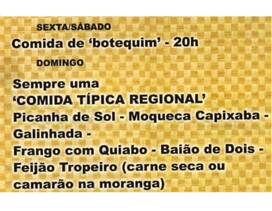 RESTAURANTE EM SAPUCAIA RJ