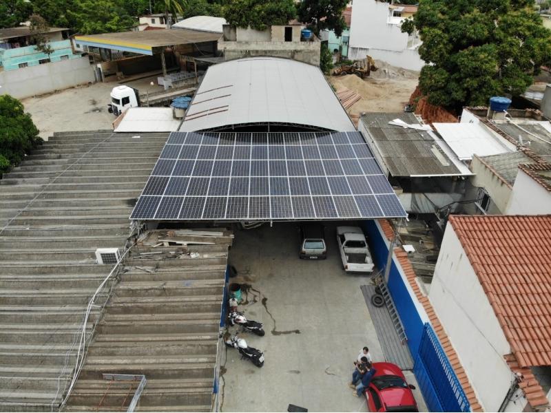 INSTALAÇÃO E MANUTENÇÃO DE SISTEMA FOTOVOLTAICO EM CACHOEIRO DE ITAPEMIRIM - ES