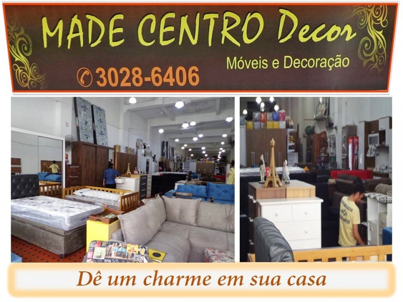 Móveis decorações Made Centro Decor, sofás camas mesas homes aparadores racks quadros e peças decorativas