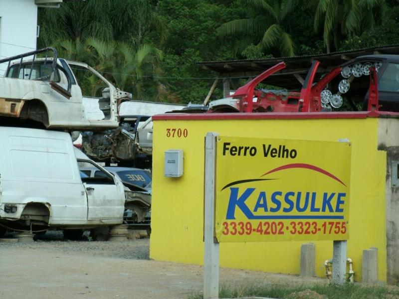 FERRO VELHO EM BLUMENAU - AUTO DESMANCHE - SC