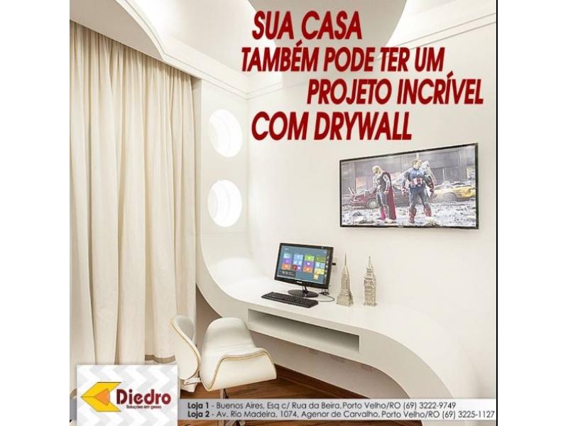 Acabamentos para Construção em Porto Velho - DIEDRO Gesso & MDF