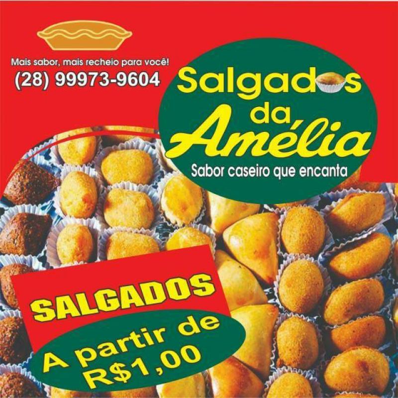 SALGADOS DA AMÉLIA