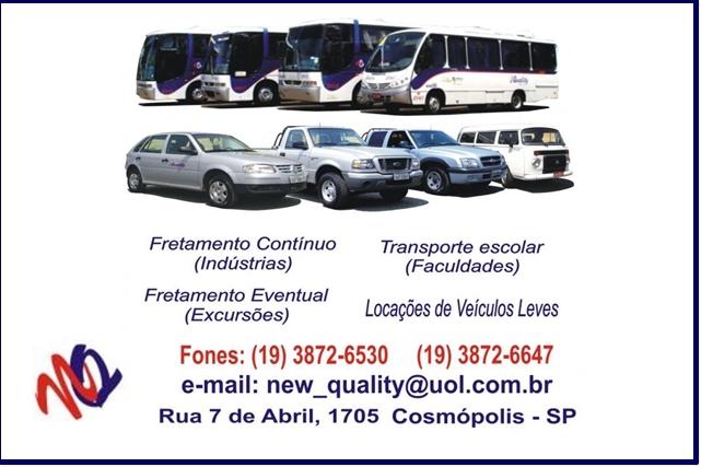 Transportes Rodoviário Cosmópolis Paulinia