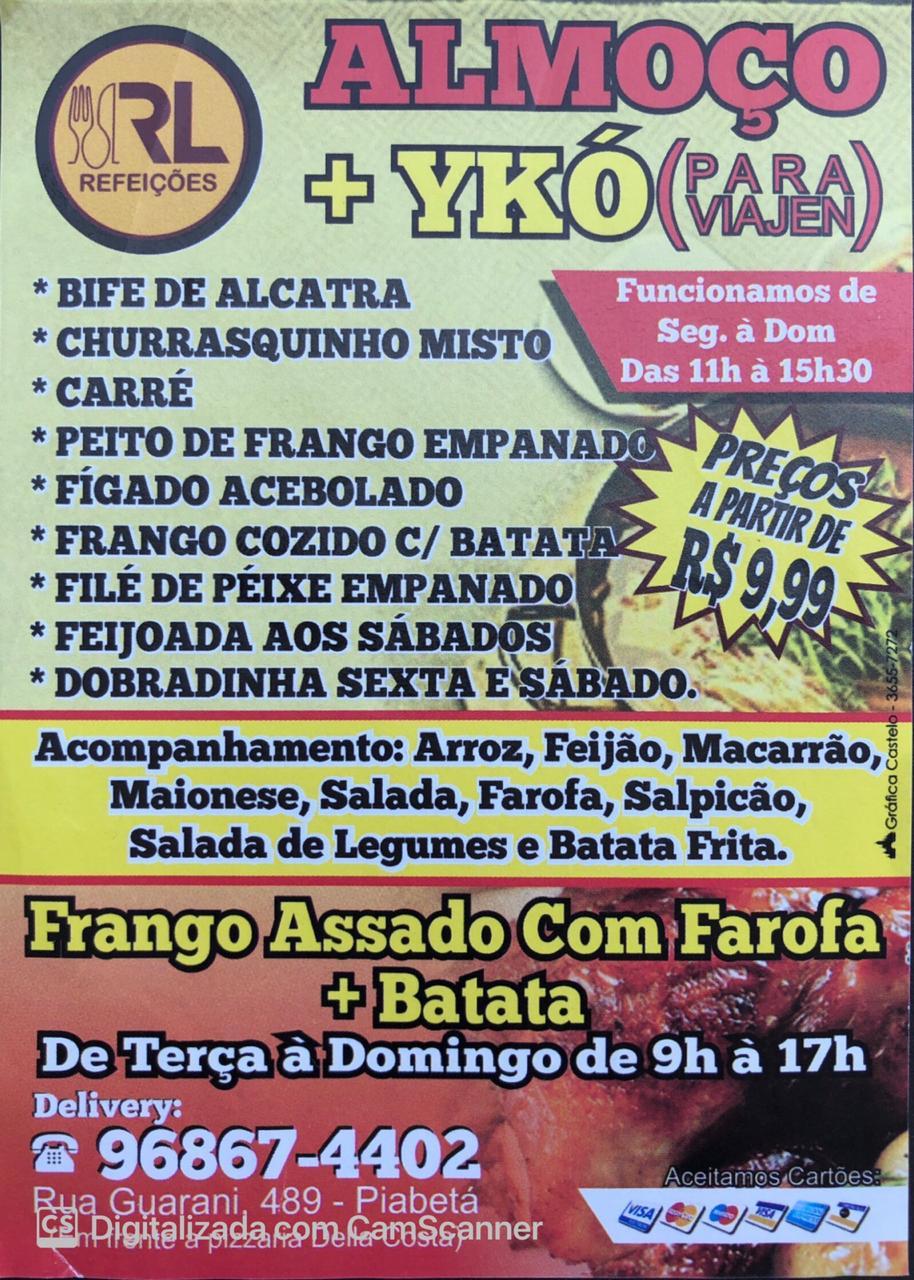 ENTREGA DE FRANGO ASSADO EM PIABETÁ MAGÉ - RJ
