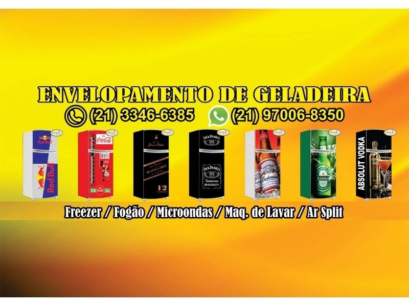 ENVELOPAMENTO DE GELADEIRAS EM CASEMIRO DE ABREU - RJ