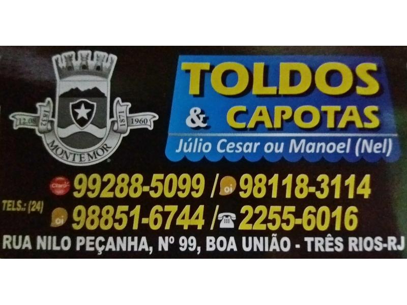 CAPOTEIRO E ESTOFADOR EM TRÊS RIOS