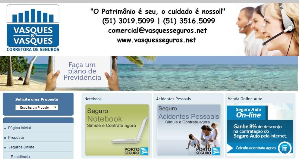 SEGURO RESIDENCIAL EM PETROPOLIS - VASQUES & VASQUES - RJ