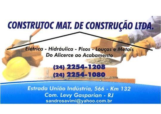 TELHA E MATERIAL DE CONSTRUÇÃO EM COMENDADOR LEVY GASPARIAN