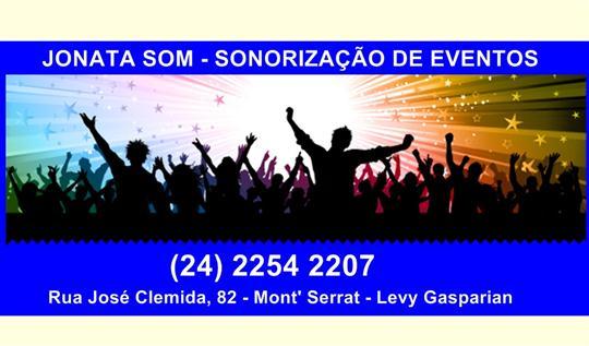 SOM DJ E ILUMINAÇÃO EM COMENDADOR LEVY GASPARIAN