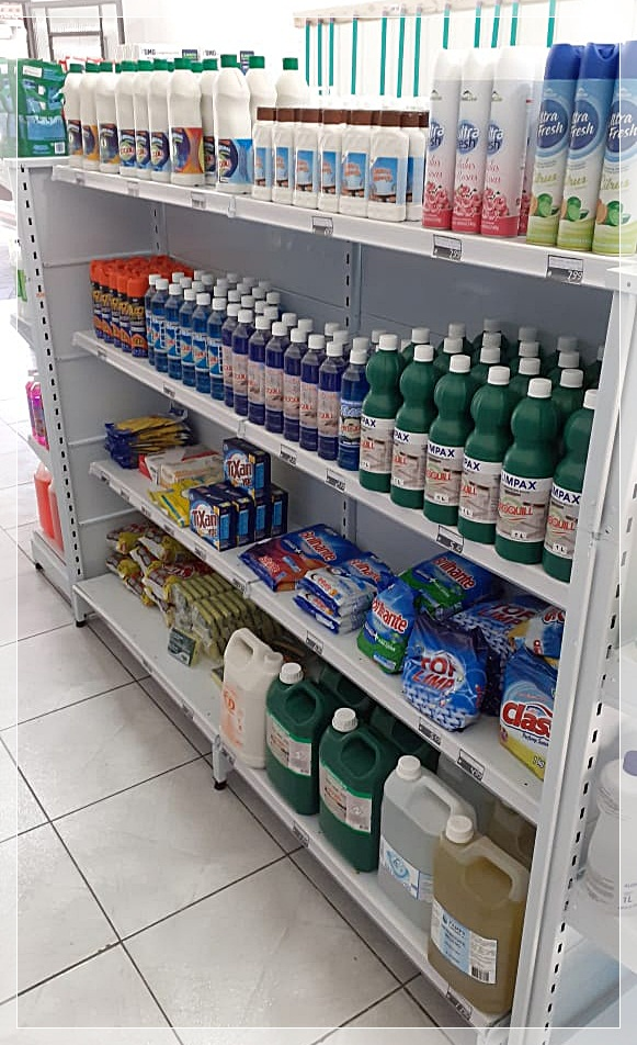 PRODUTOS DE HIGIENE E LIMPEZA NO SARANDÍ EM PORTO ALEGRE - RS