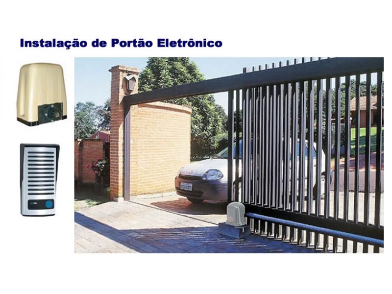 PORTÃO AUTOMÁTICO EM DUQUE DE CAXIAS - SENSO VISION