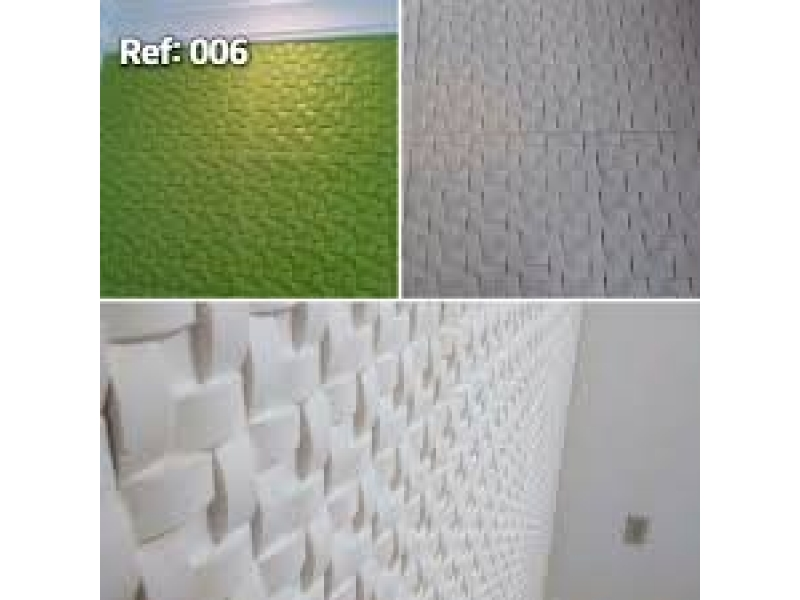 PLACAS DE GESSO 3D EM TERESÓPOLIS-RJ