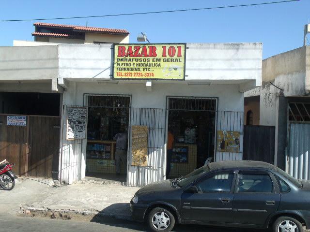 BAZAR 101 EM CAMPOS DOS GOYTACAZES - BAZAR 101
