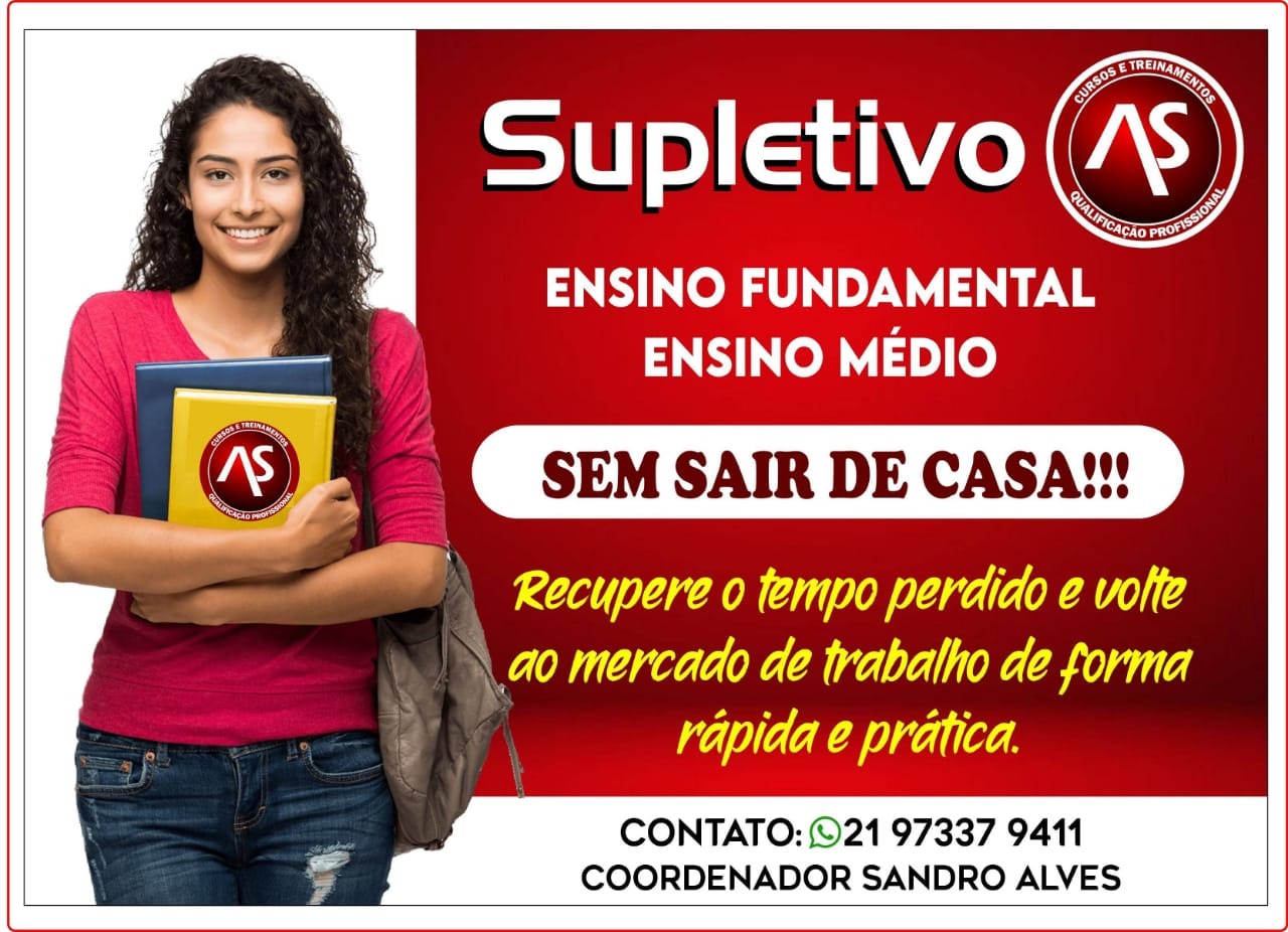 Supletivo a Distância em Nova Iguaçu RJ - Reconhecido pelo Mec