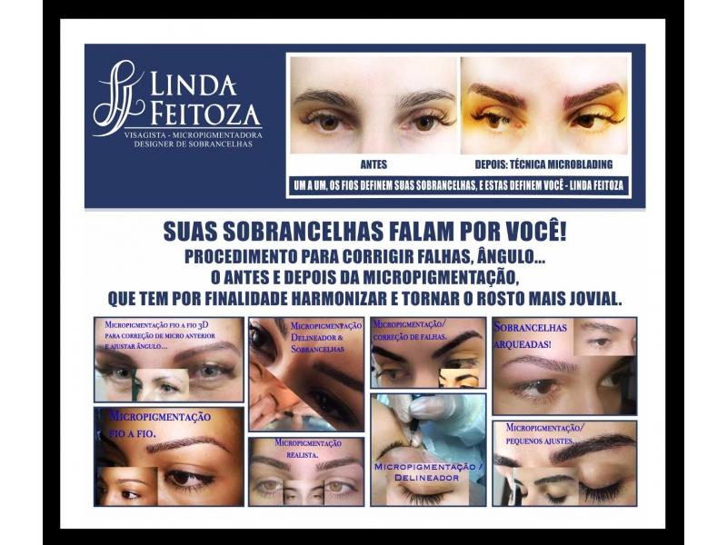 MICROPIGMENTAÇÃO  DE SOBRANCELHAS  EM PETRÓPOLIS -  Linda Feitosa