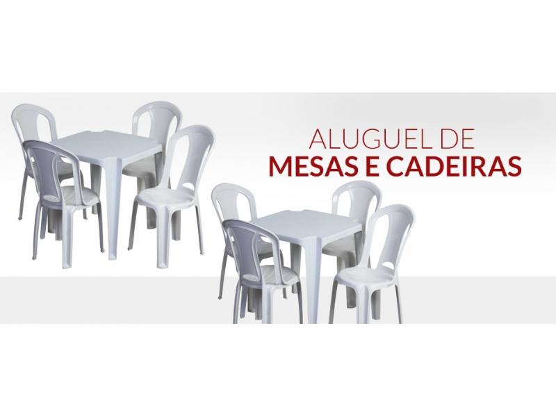 ALUGUEL DE MESAS E CADEIRAS EM SANTA CRUZ DA SERRA - RJ