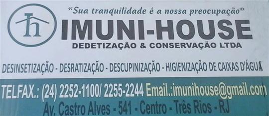 DEDETIZAÇÃO E IMUNIZAÇÃO EM TRÊS RIOS