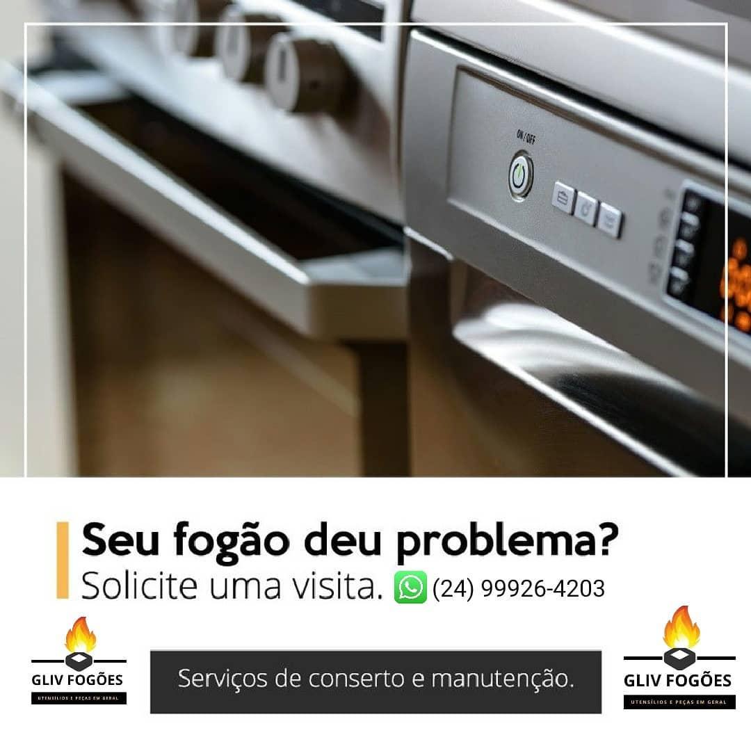 PEÇAS E UTENSÍLIOS DE FOGÃO EM VOLTA REDONDA