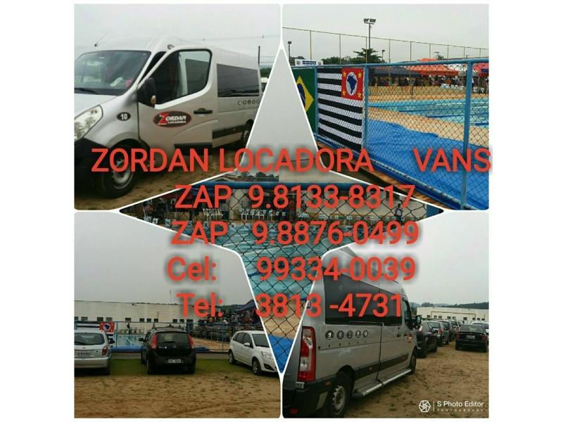 Aluguel de Van Itapira - WhatsApp Online - SP
