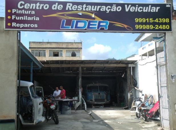 CENTRO DE RESTAURACAO VEICULAR EM CACHOEIRO DO ITAPEMIRIM ES - LIDER