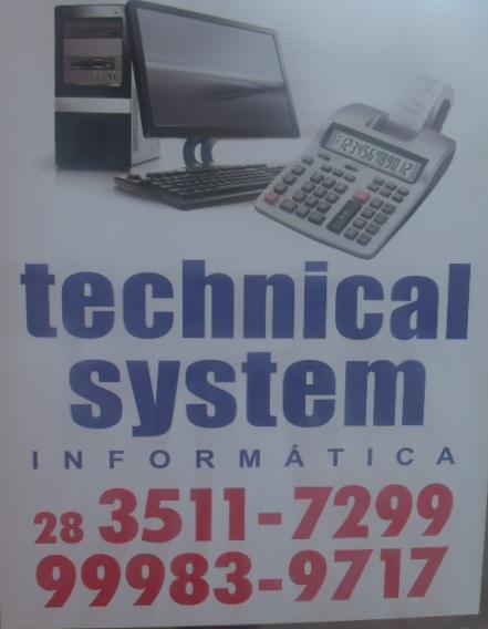 TECHNICAL SYSTEM INFORMATICA EM CACHOEIRO DO ITAPEMIRIM ES - TECHNICAL SYSTEM INFORMÁTICA