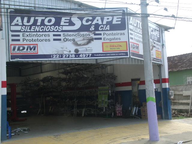 ESCAPAMENTO SILENCIOSOS AUTO ESCAPE EM CAMPOS DOS GOYTACAZES - RJ