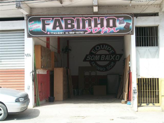 FABINHO SOM - SOM AUTOMOTIVO EM JARDIM PRIMAVERA - DUQUE DE CAXIAS - RJ
