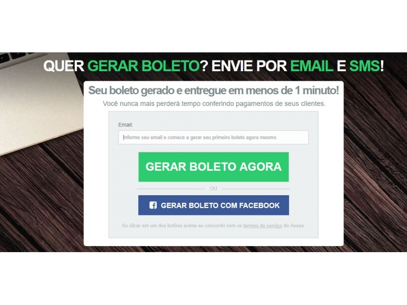 GERAR BOLETO BANCÁRIO ONLINE -  WhatsApp Online - RJ