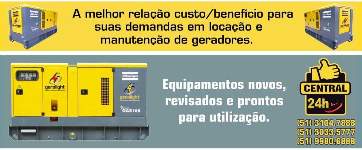 LOCAÇÃO DE GERADORES EM ESTEIO - RS