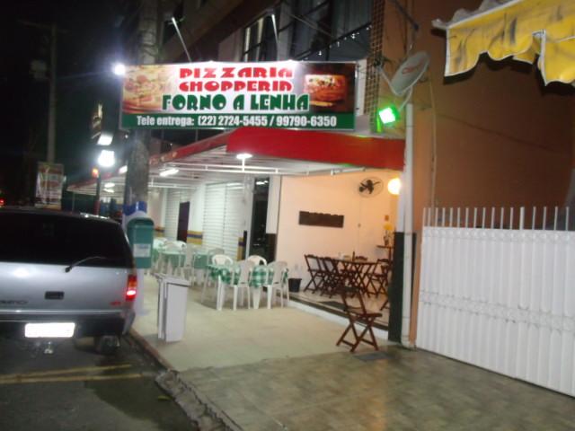 PIZZARIA CHOPERIA EM CAMPOS DOS GOYTACAZES - FORNO A LENHA