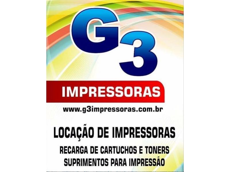 SUPRIMENTOS PARA IMPRESSORAS EM PORTO VELHO - G3 IMPRESSORAS