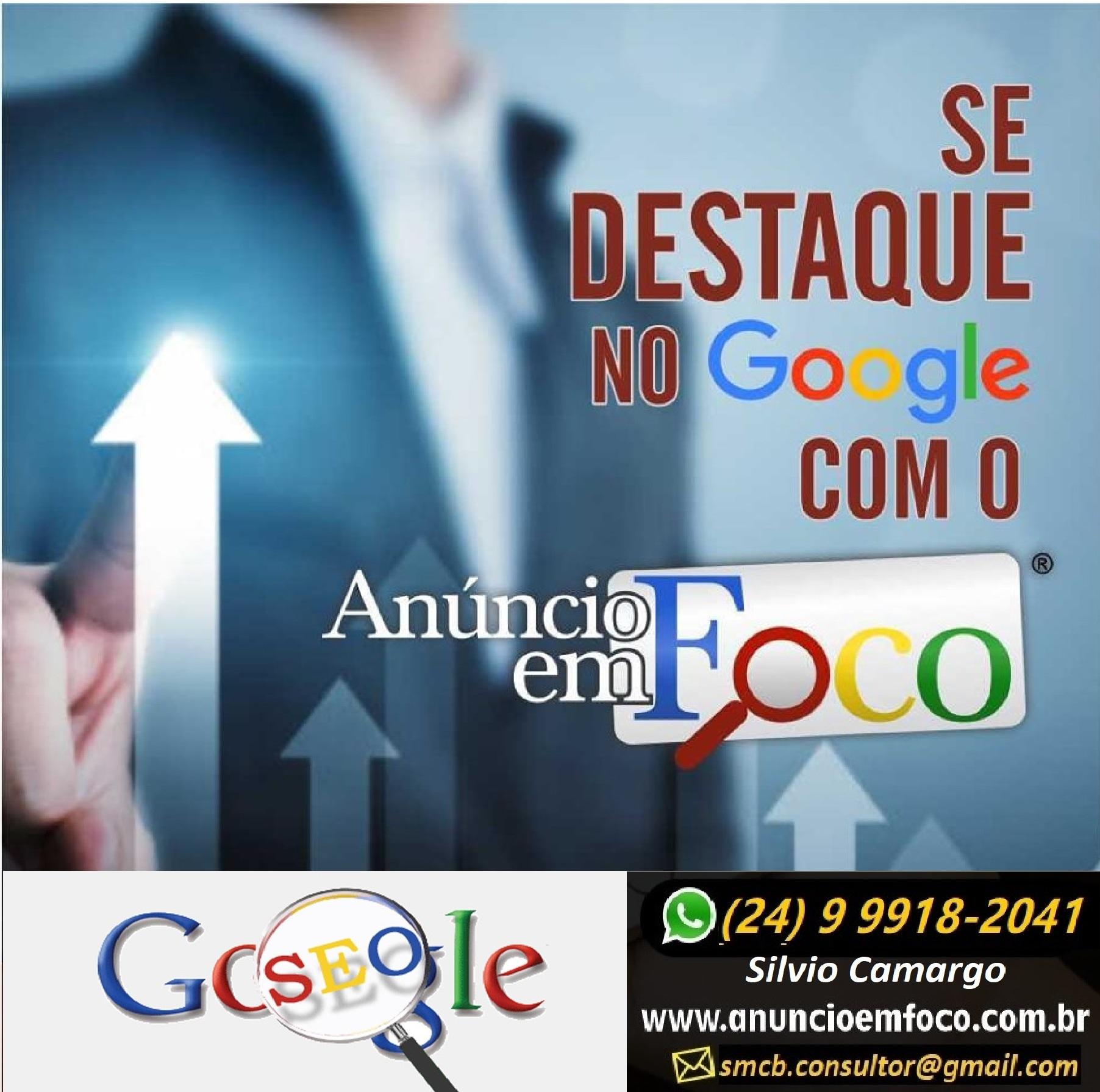 Especialista em Google em Volta Redonda RJ - Anuncio em Foco