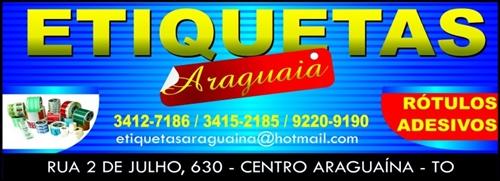 ARAGUAIA ETIQUETAS