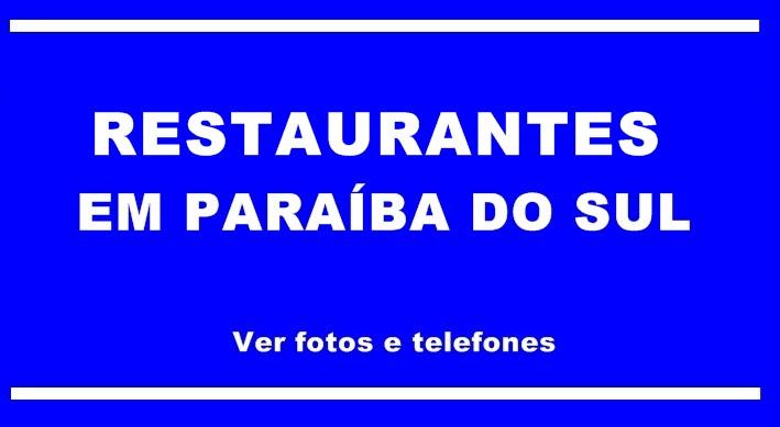 Restaurante em Paraiba do Sul