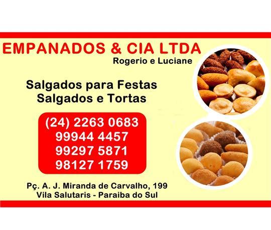 PÃO, TORTA, BOLO E SALGADO EM PARAÍBA DO SUL
