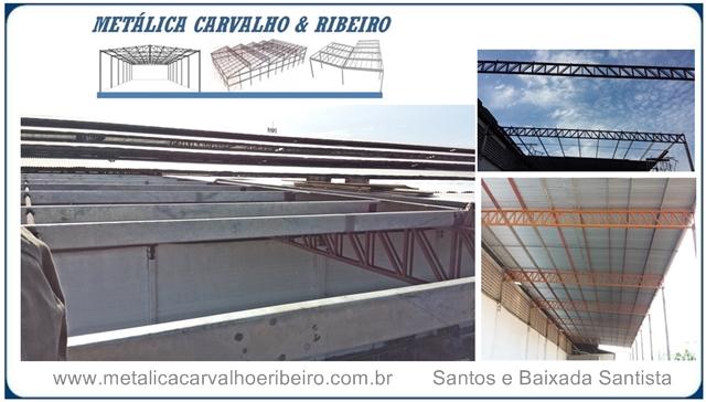 Estruturas Metálicas Baixada Santista Cavalho e Ribeiro