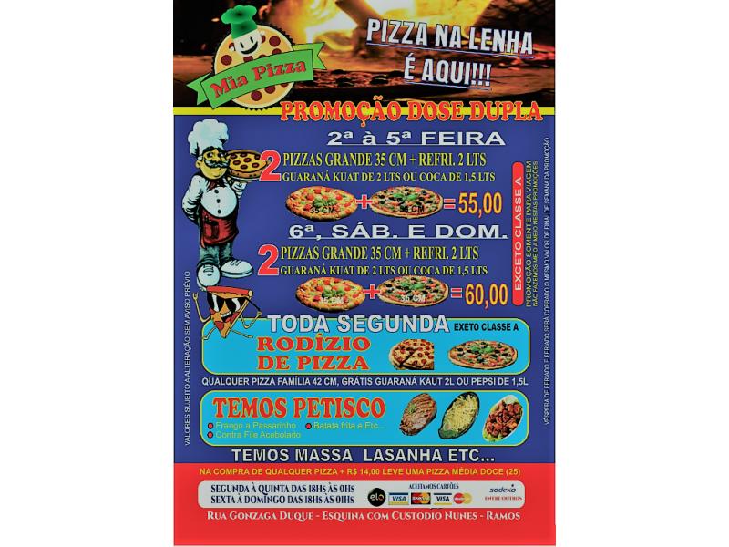 DISK ENTREGA DE PIZZA EM OLARIA RIO DE JANEIRO - RJ