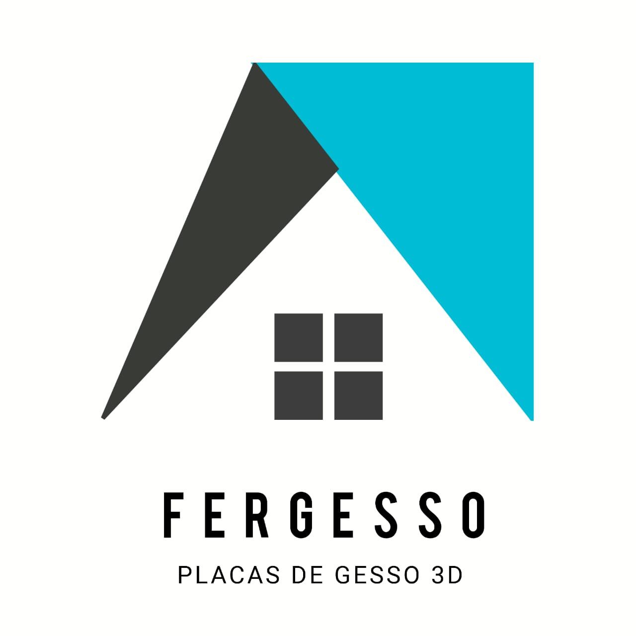 FERGESSO PLACA DE GESSO 3D