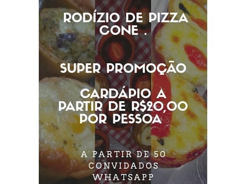 PIZZA DE CONE DELIVERY EM SÃO PAULO - D&Q Pizza de cone - SP
