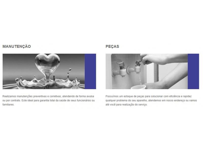 Manutenção e Higienização de Bebedouros e Purificadores de Água em Bosque Saúde - SP