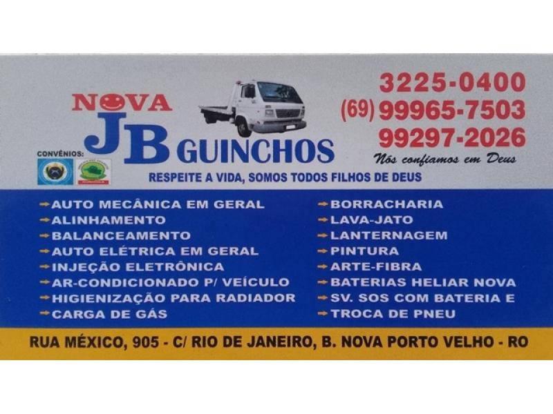 Mecânica e Elétrica em Porto Velho - JB GUINCHOS