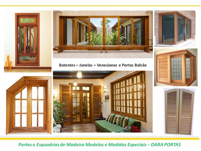 Portas esquadrias medidas modelos especiais ou padrão, madeira de boa qualidade, confira nossos serviços
