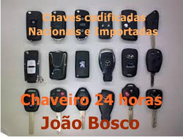 CHAVES CODIFICADAS EM BOTAFOGO - CHAVEIRO JOAO BOSCO - RJ