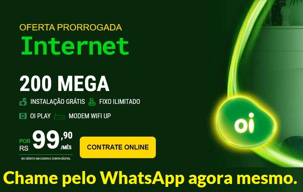 OI FIBRA EMPRESA EM CURICICA - RJ